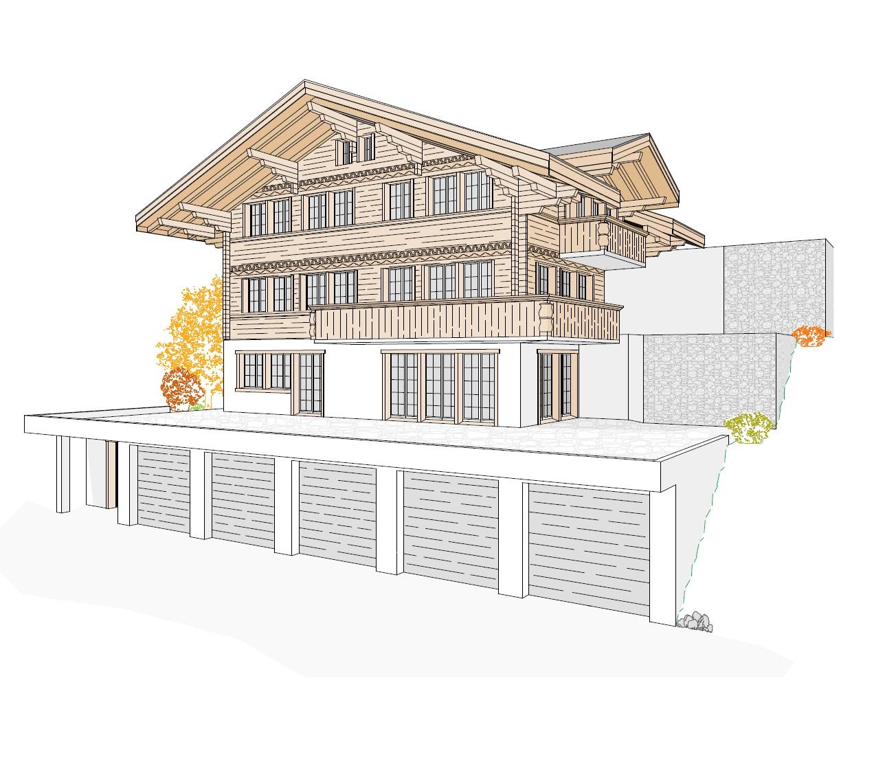 Neubauten gr nenwald architektur lenk for Boden neubau